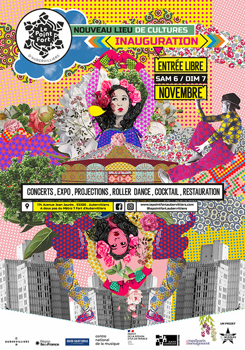 INAUGURATION ! TIOMBÔ + SEKSION MALOYA + FIRE BRASS BAND + EXPO DE WILLY VAINQUEUR + ROLLER DANCE PARTY + JUDE JOSEPH